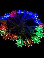 2W 4 Meter Outer Diameter 20pcs Bulb LED Modeling String Lighting Star Anise Lights, RGB Color