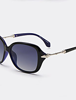 Women 's 100% UV400 Browline Sunglasses