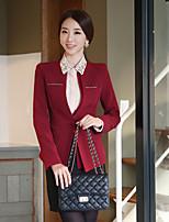 Women's Work Medium Long Sleeve Regular Blazer (Others)