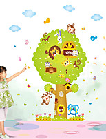 Wall Stickers Wall Decals Style Cartoon Animal Tree PVC Wall Stickers