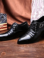 Men's Shoes Casual Leather Oxfords Black