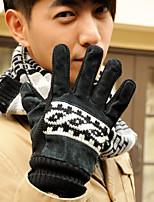 Men Leather Gloves , Vintage/Casual