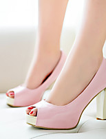 Women's Shoes  Chunky Heel Heels/Peep Toe Sandals Outdoor/Office & Career/Casual Multi-color