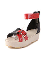 Women's Shoes Platform D'Orsay & Two-Piece/Creepers Sandals Outdoor/Office & Career/Dress/Casual Multi-color
