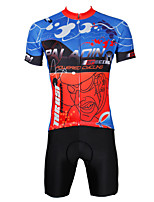 PaladinSport Men's Cycyling Jersey + Shorts  Bike Suits DT380 City Series Sprint Design