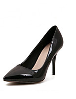 Women's Shoes Patent Leather Stiletto Heel Heels/Pointed Toe Pumps/Heels Casual Black/Red/White