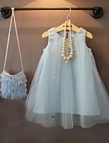 Girl's Summer Thin Sleeveless Dresses
