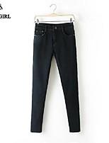 Pantaloni Da donna Casual/Da ufficio Denim