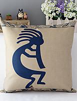 coton indien / linge traditionnel style campagnard taie d'oreiller décoratif