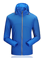 Outdoor Men's UV and Sunprotection Ultra Thin Waterproof Windbreaker