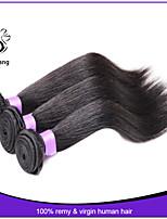 7A Brazilian Virgin Hair Straight 3Pcs Lot Remy Human Hair Unprocessed Virgin Brazilian Hair Weave Bundles