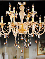 Chandeliers Crystal Modern/Contemporary Living Room/Bedroom/Dining Room/Study Room/Office Glass