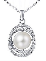 Volcanic Authentic Natural Pearl Pendant AAAA Pearl Necklace To Send His Girlfriend A Birthday Present SP0566PL