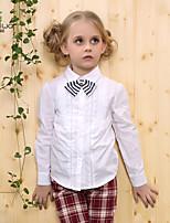 Camiseta/Camisa Chica de - Primavera/Otoño - Algodón - Manga Larga