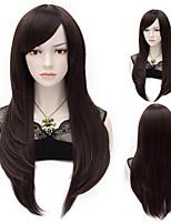 parrucche sintetiche dei capelli di alta qualità di colore naturale sintetici delle donne parrucca '