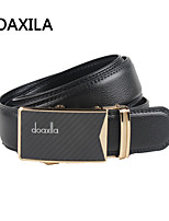 Men Party/Work/Casual Calfskin Waist Belt men's leather belt business casual leather belt fashion wild belt width 3.3cm