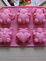 Bakeware Animal Heart Baking Molds Chocolate Mold Cookies Mold Ice Mold