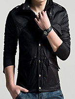 2015 New Men's Fashion Hooded Jacket Leisure Military Uniform Style