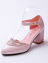Women's Shoes  Chunky Heel Heels/Pointed Toe/Closed Toe Pumps/Heels Office & Career/Dress/Casual Multi-color