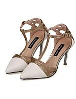 Women's Shoes Stiletto Heel Heels/Pointed Toe/Closed Toe Pumps/Heels Dress White