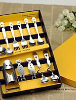 Set of 11 Happy Smiley Stainless Steel Tableware