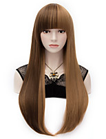 Harajuku Brown Highlights Small Roll Gradient Fashion And Personality Lolita Wigs Cos