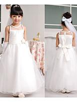 Girl's Summer Sleeveless Mesh Princess Wedding Party Dresses