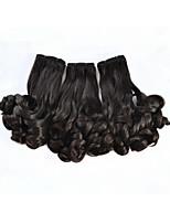 3pcs / lot virgen tía cabello humano Funmi pelo # 1b, 100g / pc 8