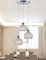 Metal - Lámparas Araña/Lámparas Colgantes - Cristal/LED/Mini Estilo -Moderno /