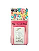 Personalized Gift Pink Design Aluminum Hard Case for iPhone 4/4S
