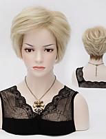 cabelo gradiente de moda europeus e americanos riscados perucas sintéticas de alta qualidade