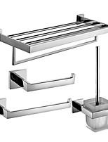 Juego de Accesorios de Baño/Anillos Para Toallas/Sujetador del Papel Higiénico/Sujetador del Cepillo del Inodoro/Calefactor de Toallas