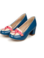 Women's Shoes Flat Heel Heels/Basic Pump Pumps/Heels Office & Career/Dress/Casual Blue/Yellow/Beige