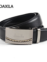 Men Party/Work/Casual Calfskin Waist Belt men's leather belt business casual leather belt fashion wild belt width 3.5cm