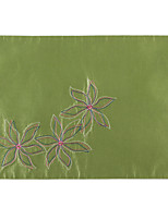Promotion Cheap Flower Embroidery Place Mat/Dinner Dat