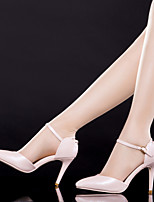 Chaussures Femme Faux Cuir/Faux Daim Talon Aiguille Talons/Bout Pointu/Bout Fermé SandalesMariage/Bureau & Travail/Décontracté/Soirée &