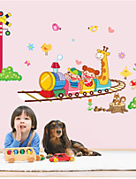 Wall Stickers Wall Decals Style Happy Train PVC Wall Stickers