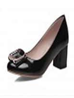 Women's Shoes Synthetic Low Heel Heels/Basic Pump Pumps/Heels Office & Career/Dress/Casual Blue/Pink/White/Beige