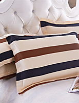 AIWODE® 100% Cotton Pillowcases (1 Pair) Comfortble