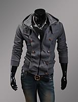 Conjuntos Activewear De los hombres Casual Mezcla de Algodón - Manga Larga