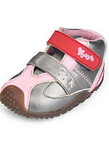 Baby Veclro Boots  Outdoor  Faux Leather Shoes Blue/Yellow/Pink