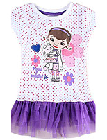 Girl's Dresses Summer Polka Dot Dress Tutu Skirt Children Dresses(Random Printed)