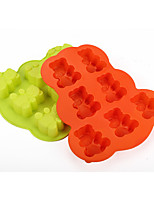 Bear Shaped Silicone Baking Molds Ice/ Chocolate/ Cake Mold (Random Color)
