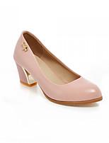 Women's Shoes  Kitten Heel Basic Pump Pumps/Heels Office & Career/Dress/Casual Black/Blue/Pink/White
