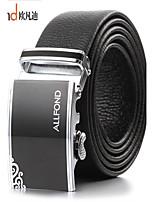 ALLFOND Men Party/Work/Casual Alloy/Leather Calfskin Waist Belt PZD4031-13