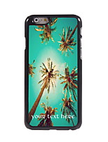 Personalized Gift Summer Coconut Design Aluminum Hard Case for iPhone 6 Plus