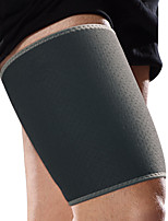 Ollas Unisex Outdoor Activities Black Nylon Neoprene Legs Protective Gear/Breathable Thigh Supporter Free Size S9500
