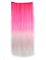 Global Explosion Models Girl Gradient Necessary Straight Hair Piece