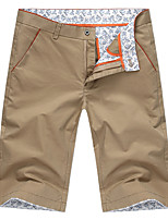 Men's Casual Pure Shorts Pants (Cotton)