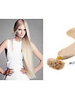 1pc/lot Nail/U-Tip Hair Extension 1g/Strand 18